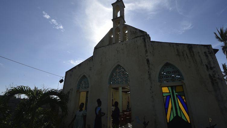 Une église près de la capitale Port-au-Prince (image d'illustration) (RODRIGO ARANGUA / AFP)