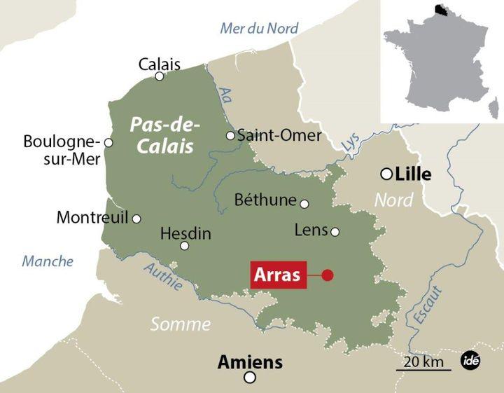 (Un homme armé interpellé à Arras après avoir blessé trois personnes dans un train Thalys @ IDE)