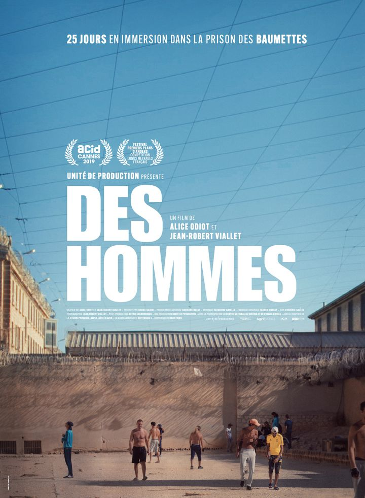 """Affiche du documentaire """"Des hommes"""". (Unité de production)"""
