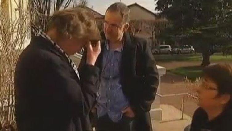 Retrouvailles entre Yannick et Jacqueline Boudard - février 2012 (FRANCE 2)