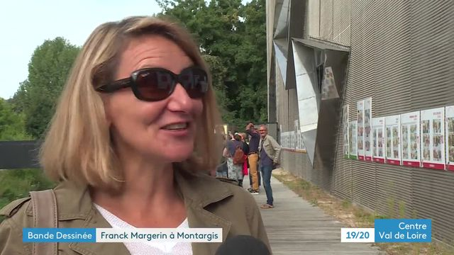 Exposition Franck Margerin à Montargis