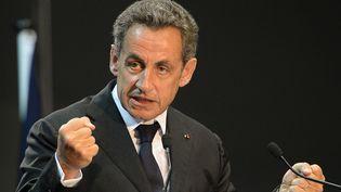 Nicolas Sarkozy, le 28 octobre 2014 à Marseille. (BORIS HORVAT / AFP)