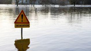 Illustration inondation. (DAMIEN MEYER / AFP)