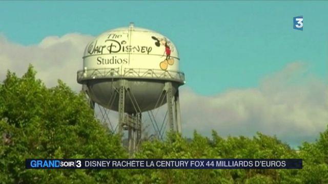Disney rachète la Century Fox pour plus de 44 milliards d'euros