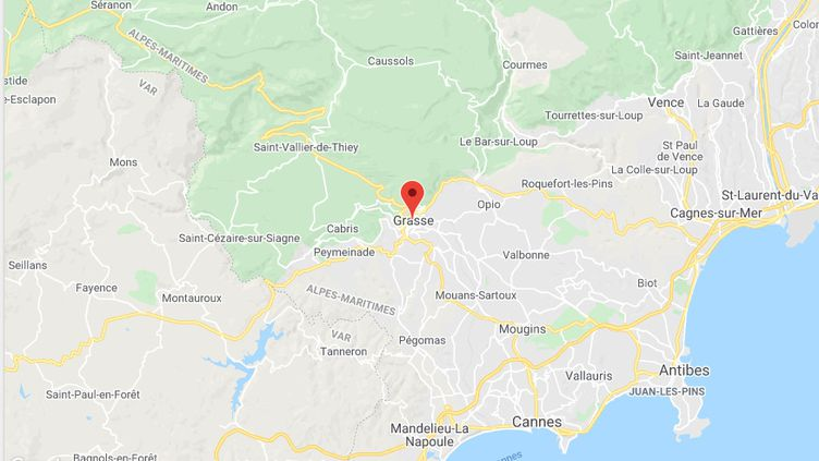 Grasse (Alpes-Maritimes) (GOOGLE MAPS)