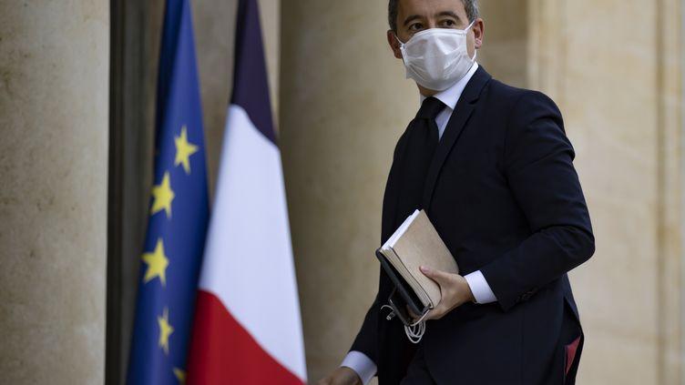 Gérald Darmanin, ministre de l'Intérieur (le 19 octobre 2020). (IAN LANGSDON / EPA)