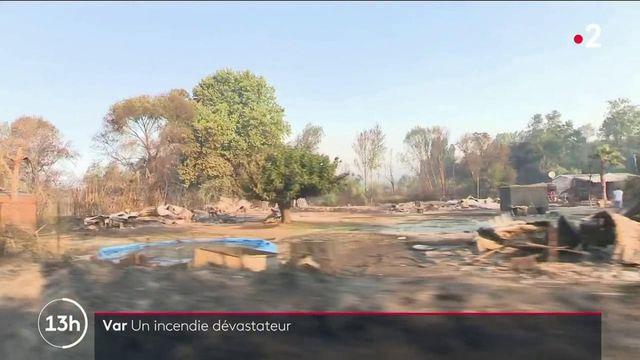 Var : la lutte contre un incendie dévastateur