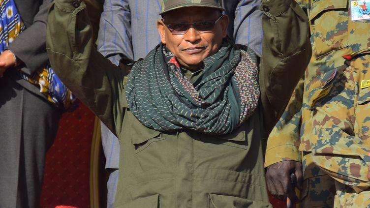 """L'ancien président du gouvernement régional de Tigré, Debretsion Gebremichael, assiste aux célébrations marquant le 4ème anniversaire du lancement de la """"Lutte armée des peuples du Tigré"""". Le 19 février 2020, à Mekelle. (MICHAEL TEWELDE / AFP)"""