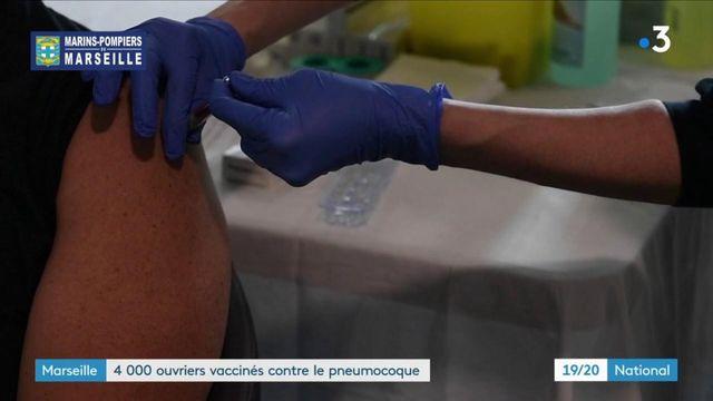 Marseille : 4 000 ouvriers d'un chantier naval vaccinés contre un pneumocoque