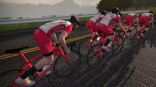 Le Tour de France virtuel débute samedi 4 juillet 2020. (DR)