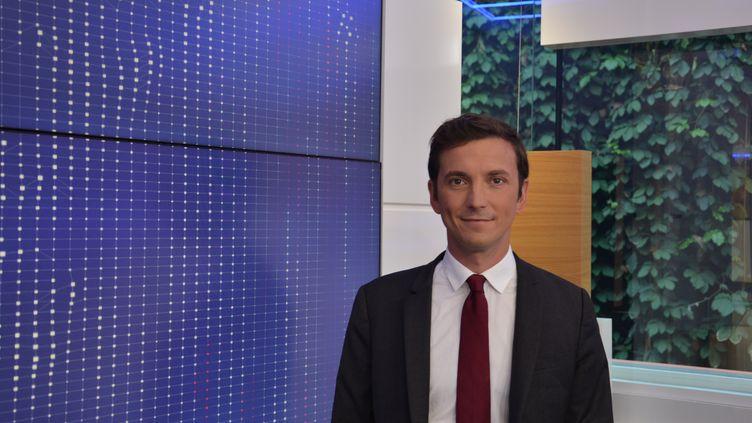 Aurélien Taché, député LREM du Val-d'Oise,enaoût 2018. (Jean-Christophe Bourdillat / RADIO FRANCE)