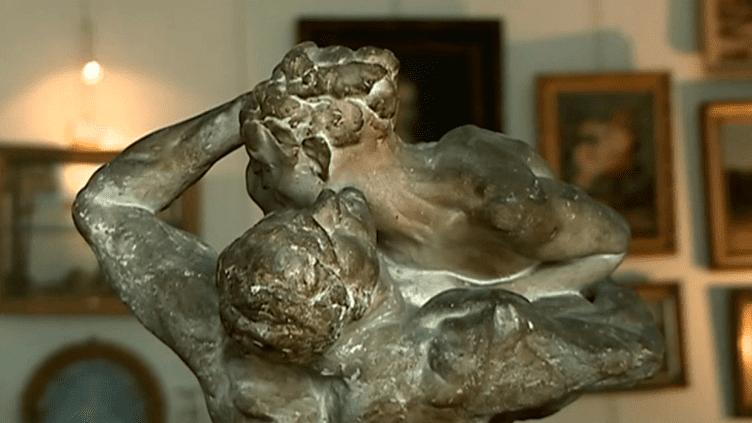 Découverte exceptionnelle d'une sculpture de Rodin au Pays Basque  (France 3)
