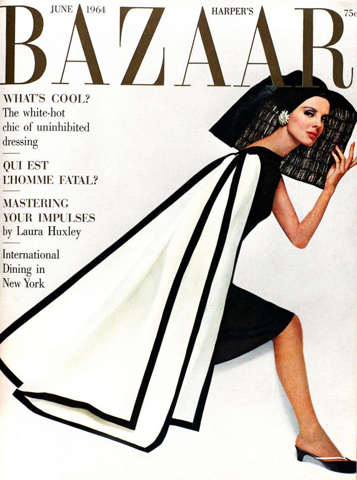"""Exposition """"Harper's Bazaar -Premier magazinede mode""""au MAD du 28 février au 14 juillet 2020. (Hiro. Juin 1964)"""