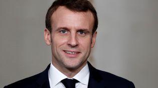 Emmanuel Macron à l'Elysée, à Paris, le 11 janvier 2019. (AFP)