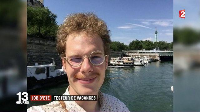 Job d'été : testeur de vacances