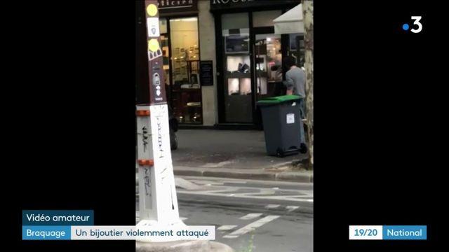 Paris : une bijouterie braquée sous les yeux des passants