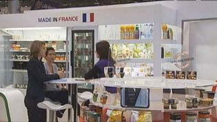 Capture d'écran du SIAL 2012, le 23 octobre 2012 - Salon International de l'Alimentation, le SIAL Paris 2012, ouvert jusqu'au 25 octobre. ( FRANCE 2)