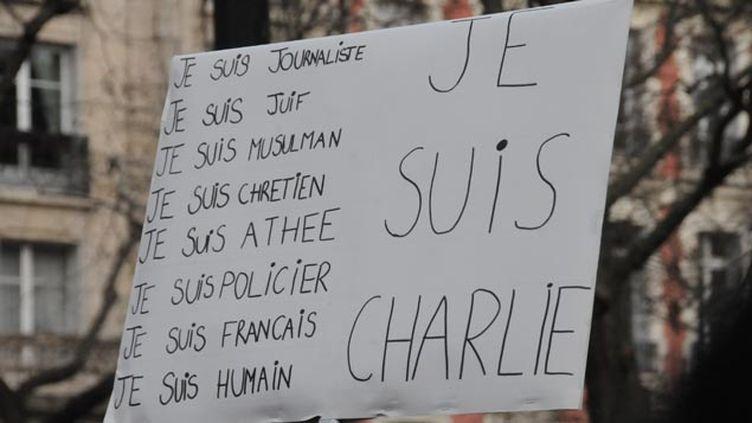 (Dans le cortège parisien © Jean-Luc Grzeskowiak)