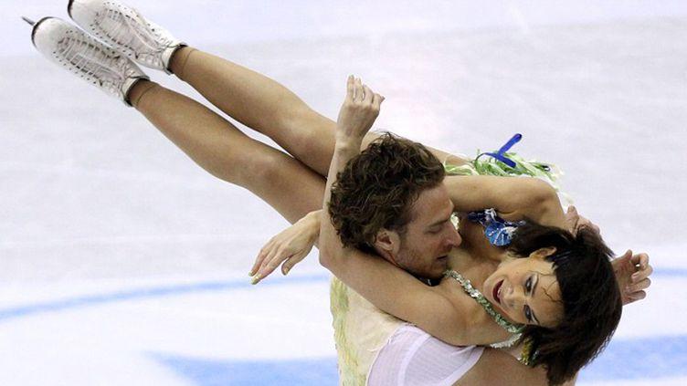 Les danseurs Nathalie Péchalat et Fabian Bourzat