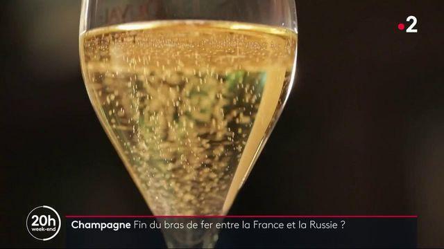 Champagne : est-ce la fin du bras de fer entre la France et la Russie ?