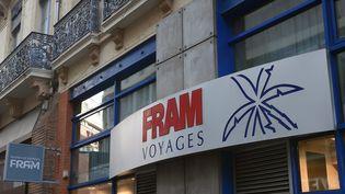 Une agence Fram, le 29 octobre 2015 à Toulouse (Haute-Garonne). (ERIC CABANIS / AFP)