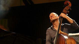 Le contrebassiste Avishai Cohen au festival Jazz à Vauvert (7 juillet 2017)  (Franck Lodi / Sipa)