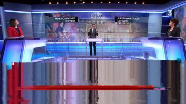 Les femmes sont peu nombreuses dans la campagne présidentielle. (France 3)
