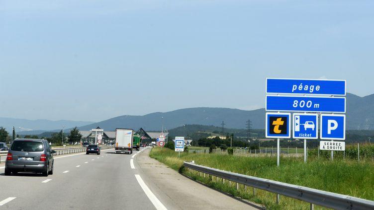 Les autoroutes françaises sont exploitées par des sociétés privées à qui l'Etat a confié la gestion en concessions pour plusieurs décennies. (photo d'illustration) (MAXPPP)