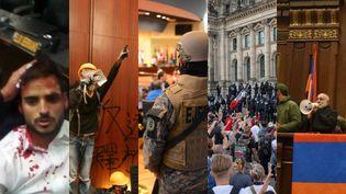 Venezuela, Hong Kong, Salvador, Allemagne, Arménie : des parlements envahis. (ASEMBLEA NACIONAL VENEZUELANA / AFP)