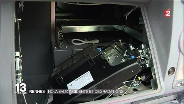 Loi Travail : de nombreux incidents à Rennes