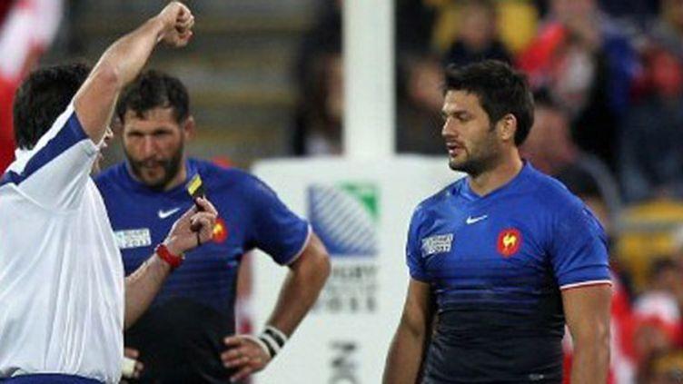 Fabrice Estebanez exclu contre les Tonga pour plaquage dangereux