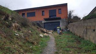 La maison de la famille Jubillar à Cagnac-les-Mines (Tarn). (BÉNÉDICTE DUPONT / FRANCE-BLEU OCCITANIE)