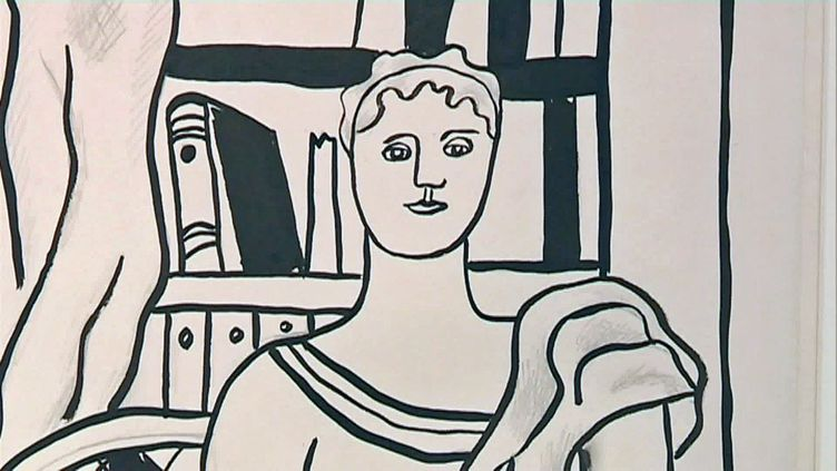 Un portrait de femme de Fernand Léger (France Télévisions)