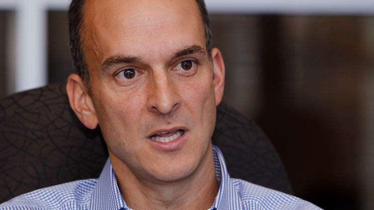 Travis Tygart, le patron de l'agence anti-dopage américaine le 16 octobre 2012 à Colorado Spring (Etats-Unis). (ED ANDRIESKI / AP / SIPA)
