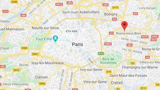"""Le couple exercait ces""""saignées purificatrices"""" dans un hôtel de Rosny-Sous-Bois. (GOOGLE STREET VIEW)"""