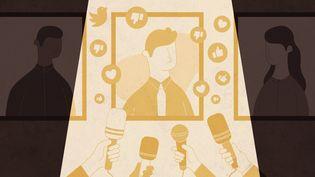 Comment les médias influencent-ils le débat avant une élection ? (ELLEN HANELLE / FRANCEINFO)