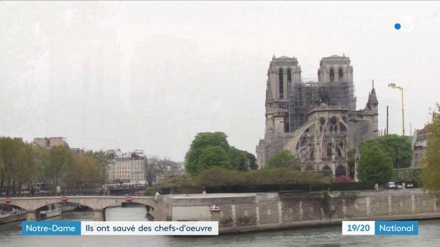 Incendie à Notre-Dame : des chefs-d'œuvre sauvés