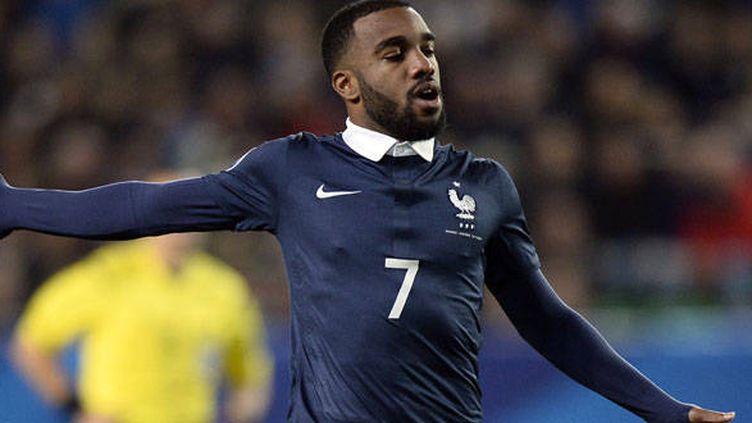 Alexandre Lacazette, l'attaquant de l'équipe de France