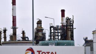 La raffinerie Total de Donges (Loire-Atlantique). (GEORGES GOBET / AFP)