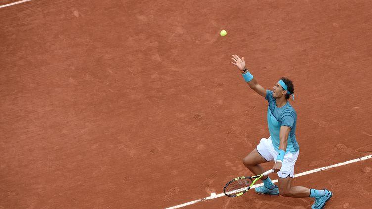 Rafael Nadal  (MIGUEL MEDINA / AFP)