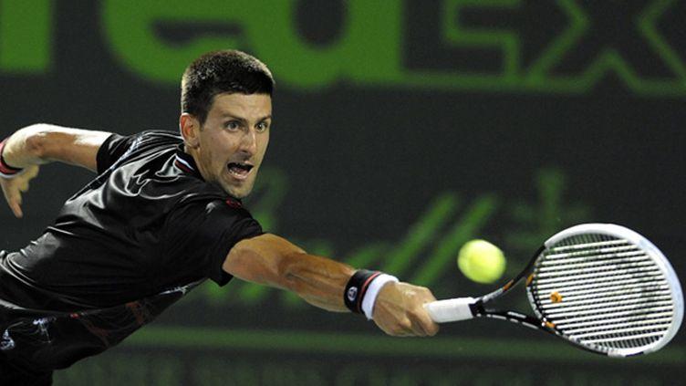 Novak Djokovic (RHONA WISE / MAXPPP)