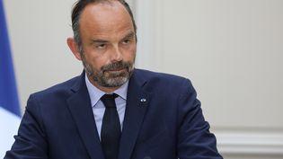 Edouard Philippe à l'Elysée le 4 septembre 2019. (LUDOVIC MARIN / AFP)