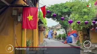 Une rue déserte au Vietnam. (France 2)