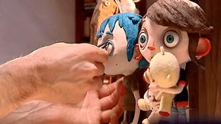 """Le film d'animation de Claude Barras, """"Ma vie de courgette"""" a entièrement été réalisé et fabriqué dans les studio de Pôle Pixel à Villeurbanne près de Lyon  (France 3 / Culturebox)"""