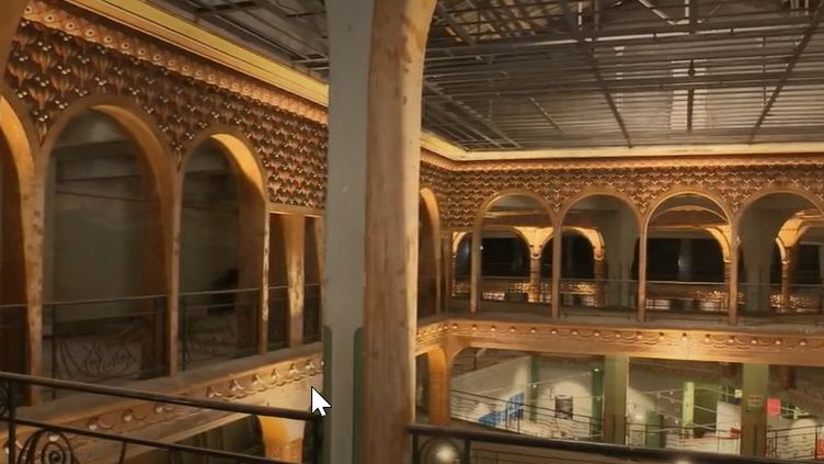 Les nouvelles galeries de Saint-Quentin (Capture d'écran France 2)