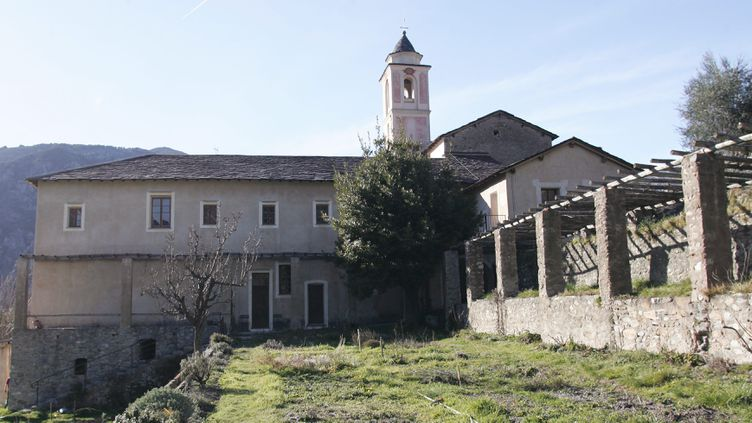 Le monastère de Saorge (Alpes-Maritimes), ancien couvent des Franciscains (FRANCOIS VIGNOLA / MAXPPP)