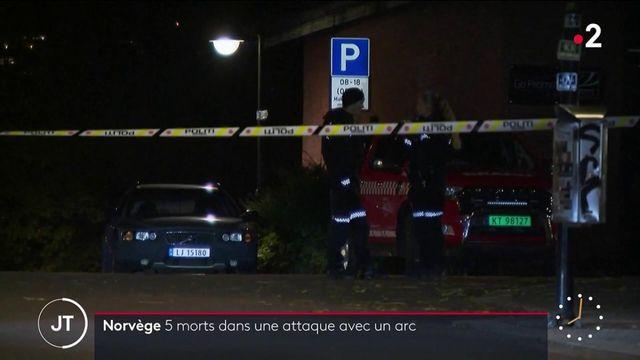 Norvège : cinq morts dans une attaque avec un arc, un homme arrêté