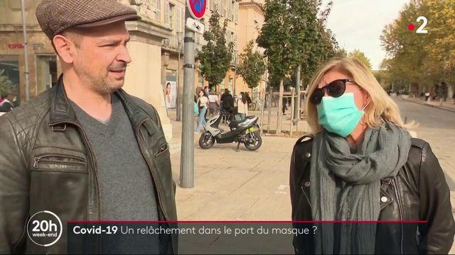 Coronavirus : le port du masque négligé ?