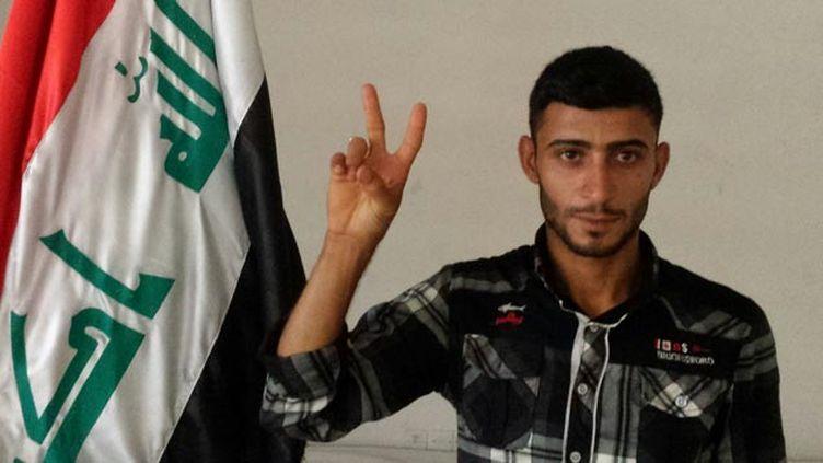 (Ali Hussein Khadim, le rescapé du massacre de Tikrit © RF/ Omar Ouahmane)