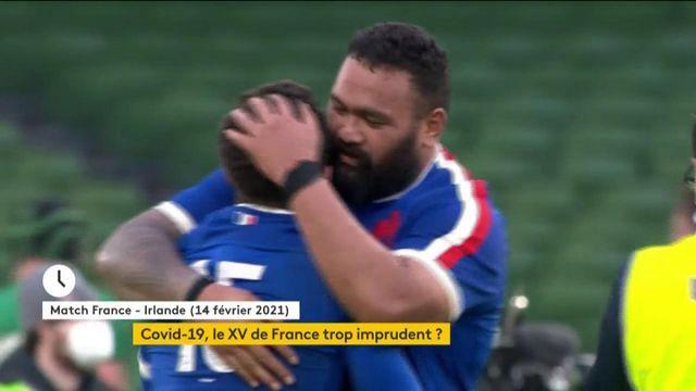 Covid-19 : les joueurs du XV de France ont-ils négligé les gestes barrières ?